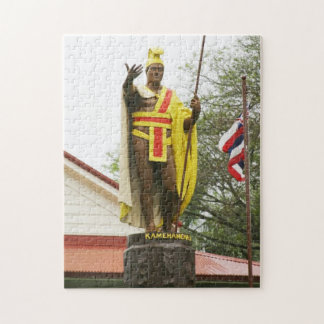 King Kamehameha Statue Jigsaw Puzzle