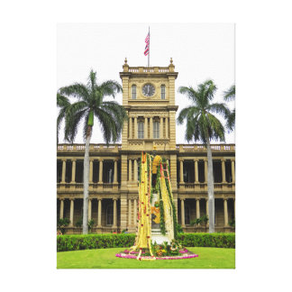 King Kamehameha the Great Canvas Print