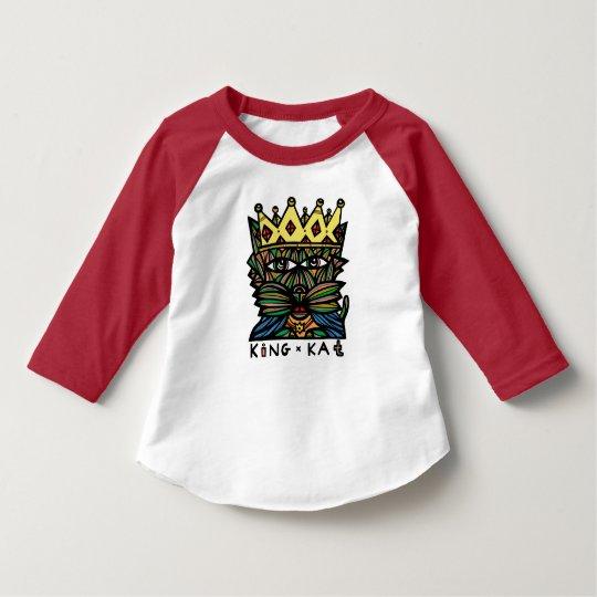"""""""King Kat"""" Toddler Raglan T-Shirt"""