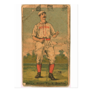 King Kelly, Boston Beaneaters Postcard