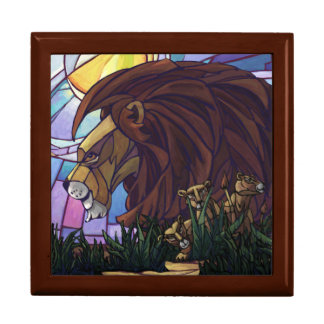 King Lion and Cubs Gift Box