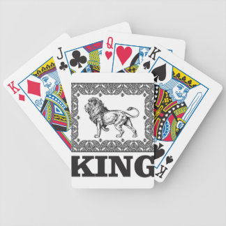 king lion box bicycle playing cards