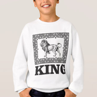 king lion box sweatshirt