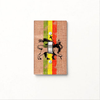 King lion light switch cover