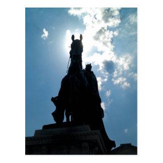 King Louis IX, Art Hill, Forest Park Postcard