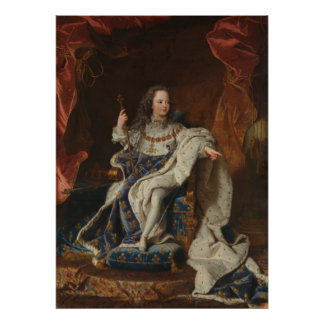 King Louis XV as a Child by Riqaud Poster