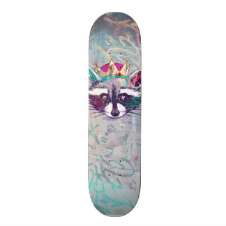 King Mapache ·#Tabla of skate Skate Boards