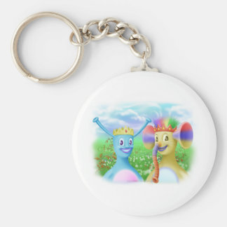 King Monty and Prince Marvin Basic Round Button Keychain