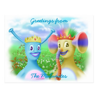 King Monty and Prince Marvin Postcard