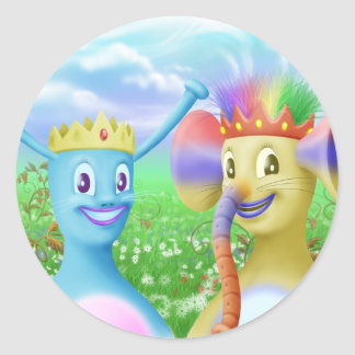 King Monty and Prince Marvin Sticker
