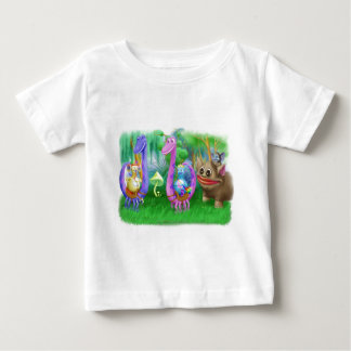 King Monty and the gang in Brimlest Forest Baby T-Shirt