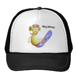 King Monty on Skate Board Cap