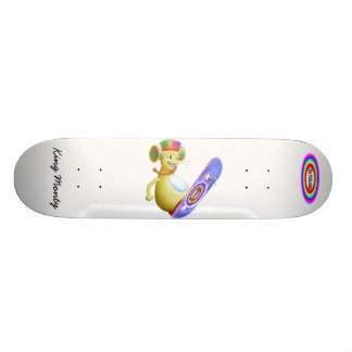 King Monty on Skate Board