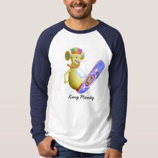 King Monty on Skate Board T Shirts