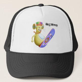 King Monty on Skate Board Trucker Hat