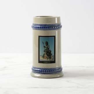 King Neptune 18 Oz Beer Stein