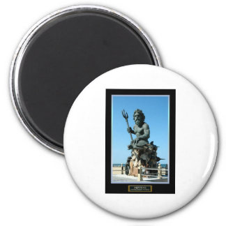 King Neptune 2 Inch Round Magnet