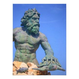King Neptune Art Photo