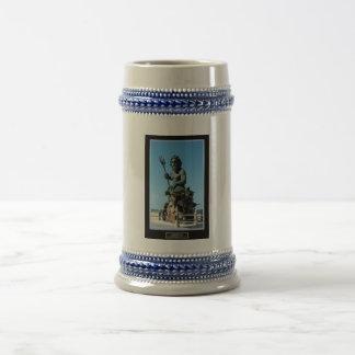 King Neptune Beer Stein