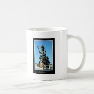 King Neptune Classic White Coffee Mug