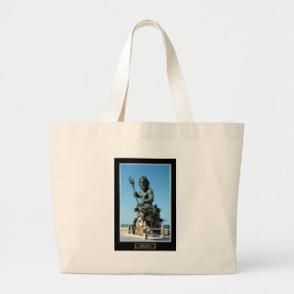 King Neptune Jumbo Tote Bag