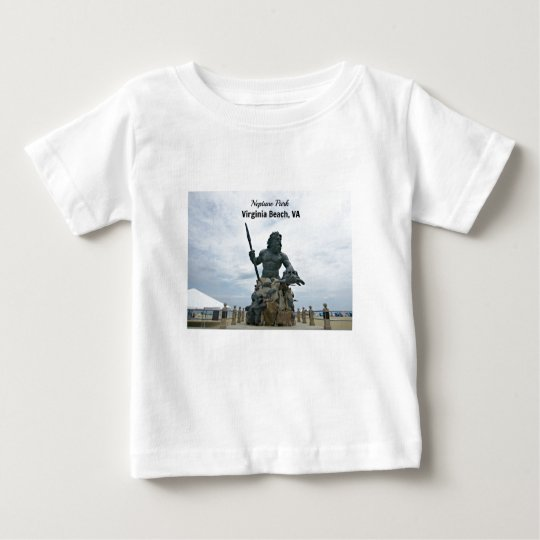 King Neptune Park, Virginia Beach, VA Baby T-Shirt