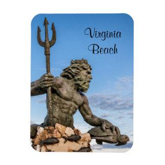 King Neptune Statue Magnet