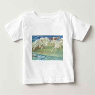 King Neptune's Horses on the Beach Baby T-Shirt