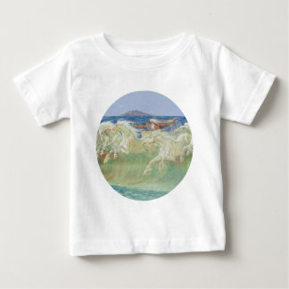 KING NEPTUNE'S HORSES RIDE THE WAVES BABY T-Shirt