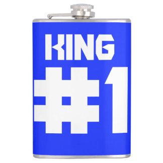 king number one hip flask