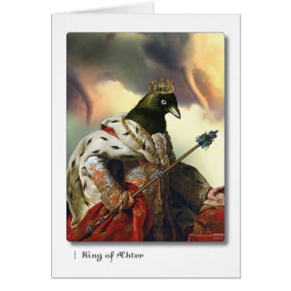 King of Aether Tarot Greeting Card