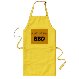 King of BBQ Long Apron