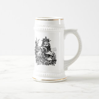 King of Beer Engraved Stein