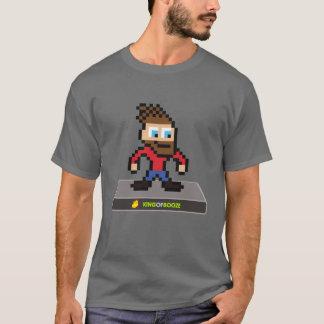 King of Booze 8-bit Boro T-shirt