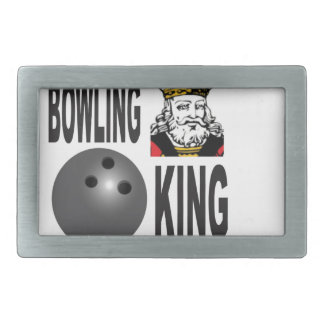 king of bowling belt buckles
