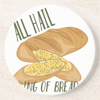 King Of Bread Drink Coaster