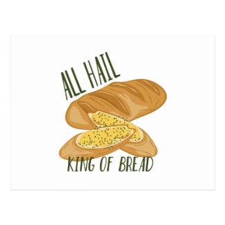 King Of Bread Postcard
