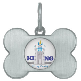 King Of Castle Pet ID Tag