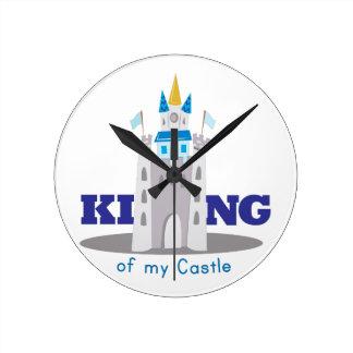 King Of Castle Wallclocks