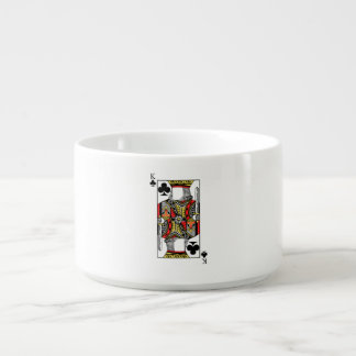 King of Clubs - Add Your Image Bowl