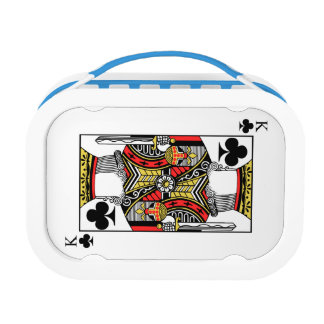 King of Clubs - Add Your Image Lunch Box