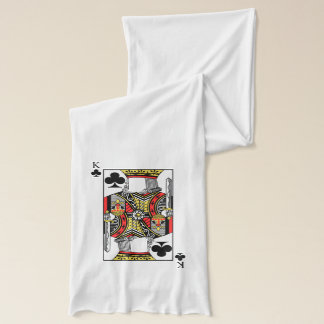 King of Clubs - Add Your Image Scarf