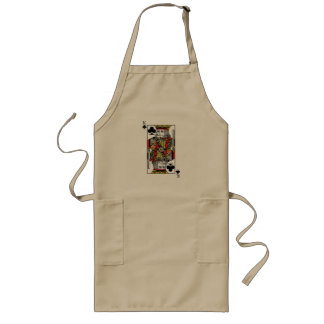 King of Clubs Long Apron