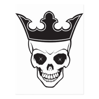 King of Death Postcard
