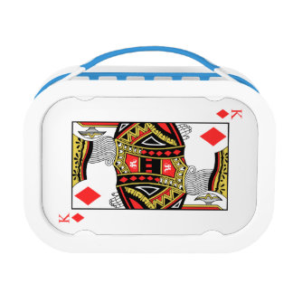 King of Diamonds - Add Your Image Lunch Box