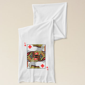 King of Diamonds - Add Your Image Scarf