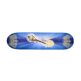 King OF Guitar Skate Board Deck