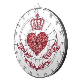 King of heart dartboard