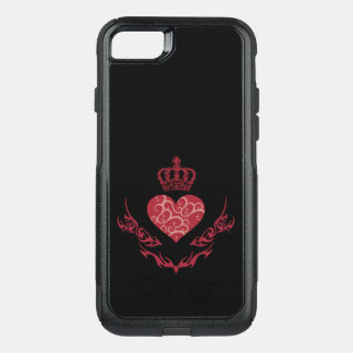 King of heart OtterBox commuter iPhone 8/7 case