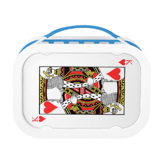 King of Hearts - Add Your Image Lunch Box